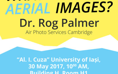 Conferință Arheoinvest 30 mai 2017: Rog Palmer — What use are aerial images?